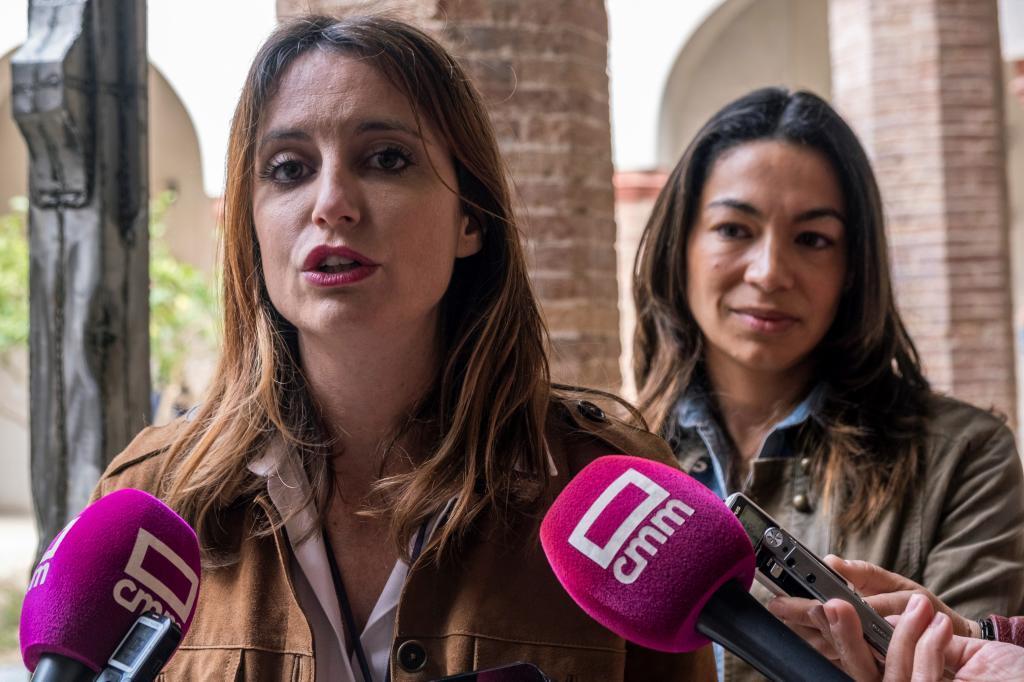 Andrea Levy, durante un acto en Toledo.