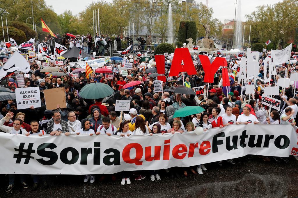 La España vaciada toma Madrid