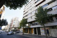 El edificio, situado en la calle Jorge Juan de Elche, que albergaba las sedes de las empresas del Grupo Soler XXI.