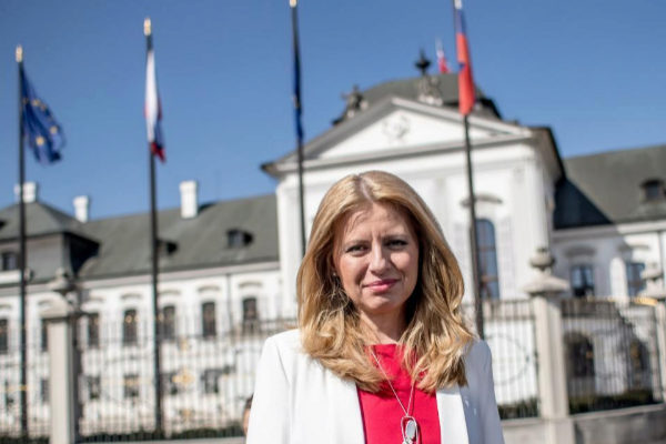 Bratislava (Slovakia).- Slovak President-elect Zuzana...