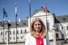 La abogada  Zuzana Caputova, primera presidenta de Eslovaquia