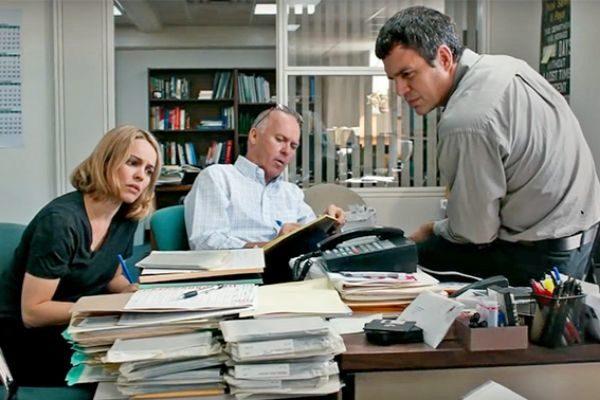Periodistas de la película 'Spotlight'.