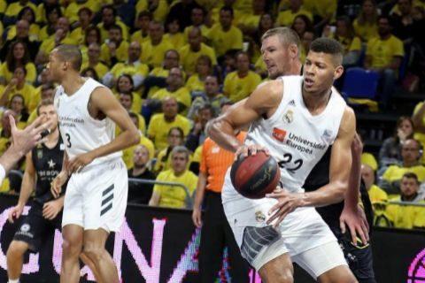 Rudy y Ayón lideran el ajustado triunfo del Madrid en Tenerife