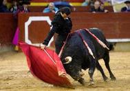 Sentido derechazo de Finito de Córdoba este domingo en Castellón