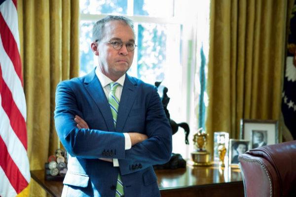 El jefe de gabinete en funciones de la Casa Blanca, Mick Mulvaney.