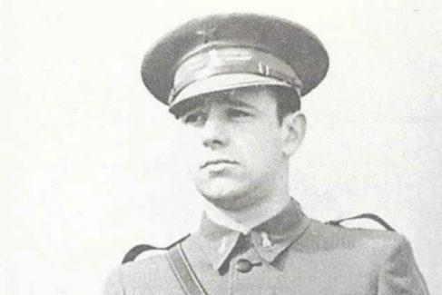 Rodríguez Miaja cuando era teniente de Ingenieros en 1938