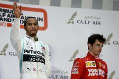 """La fiesta contenida de Hamilton y su tributo a Leclerc: """"Va a ganar muchas carreras"""""""