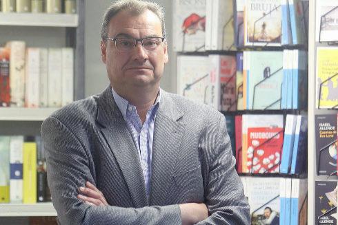 Mauro Gómez, gerente de la librería Plácido Gómez.
