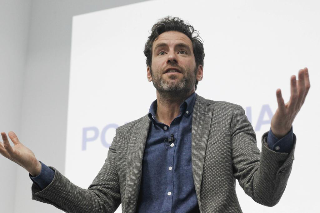 Borja Sémper, candidato del PP a la alcaldía de San Sebastián.