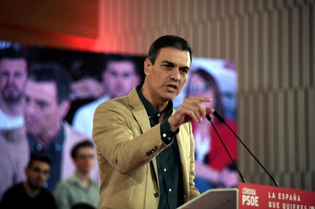 El secretario general del PSOE y presidente del Gobierno, Pedro Sánchez.