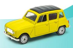 Coches Legendarios. Consigue este sábado tu réplica del Renault 4 por sólo 3,95 euros