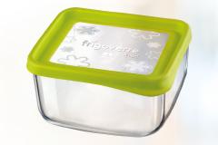 Consigue este domingo tu tupper de vidrio cuadrado 19x19 fun verde por sólo 7,95 euros