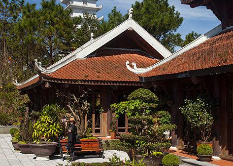 Casa de té en las Ba Na Hills.