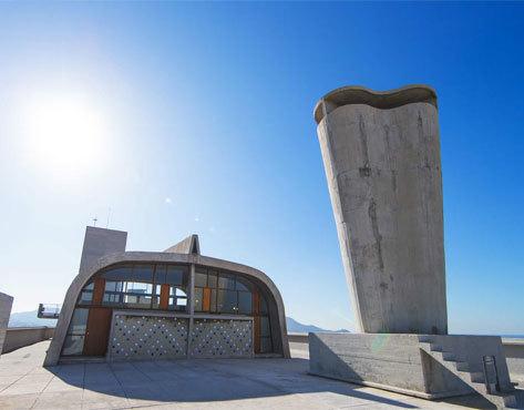 El edificio Unidad de Habitación, de Le Corbusier.
