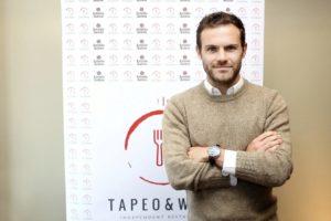 El ex jugador del Valencia Juan Mata.