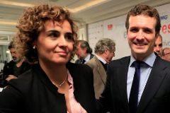 Casado pone a Montserrat al frente de la lista para las europeas