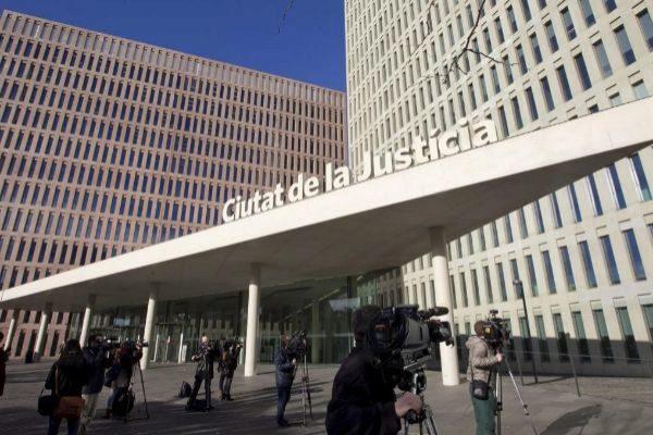 Imagen de la Ciutat de la Justícia, sede de los juzgados contenciosos en Barcelona