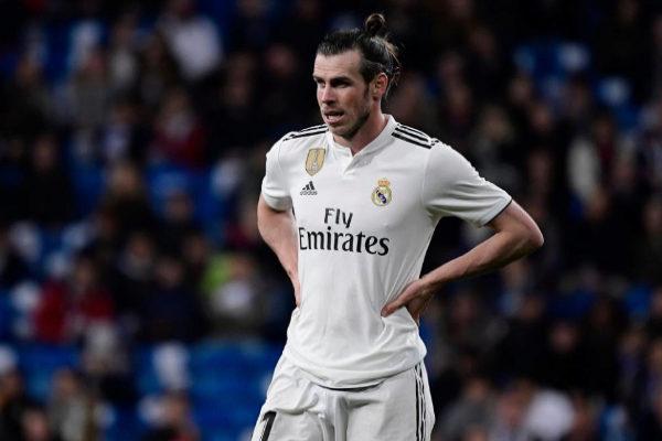 Gareth Bale, durante el partido entre el Real Madrid y el Huesca.