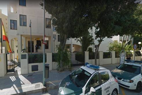 Cuartel de la Guardia Civil de Calp, donde se ha presentado la denuncia.