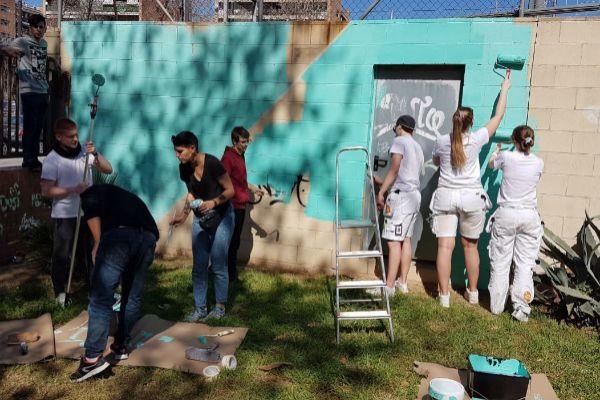 Pintando la ciudad desde los barrios