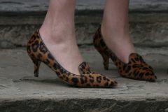 Los zapatos de leopardo que Theresa May el 13 de julio de 2016 cuando llego al 10 de Downing Street