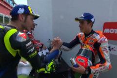 Rossi y Márquez vuelven a darse la mano
