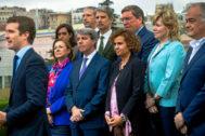 Pablo Casado presenta la lista de candidatos a Europa