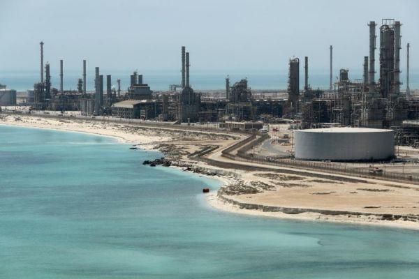 La refinería Ras Taura de Aramco, en Arabia Saudí.