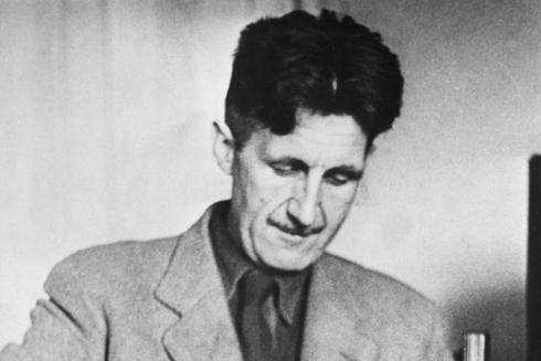 George Orwell, autor de 'Homenaje a Cataluña'.