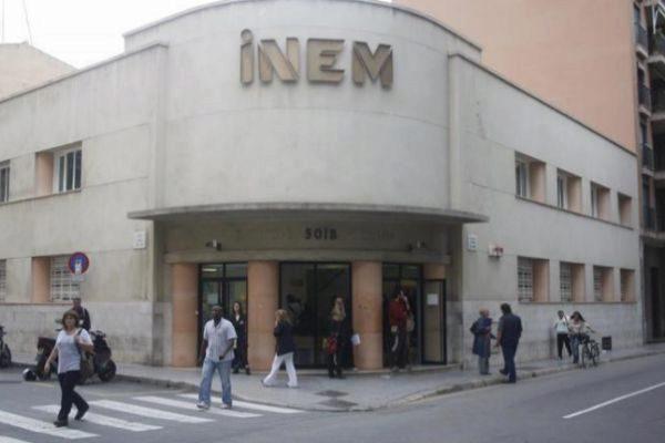 Oficina del INEM en Palma.
