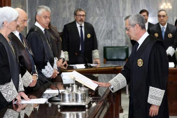 Toma de posesión del nuevo fiscal superior de Canarias, Luis del...