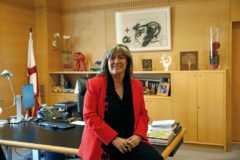 La alcaldesa de L'Hospitalet, Núria Marín