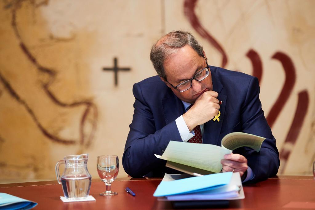 GRAFCAT6710. BARCELONA.- El presidente de la Generalitat, Quim...