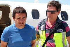 Gogorza cuando fue detenido en 1999 en Francia.