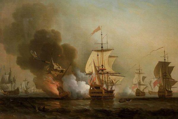 Así fue la última batalla del galeón San José
