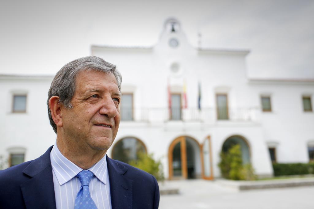 Luis Partida, alcalde de Villanueva de la Cañada.