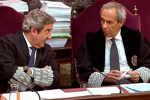 Los fiscales, Javier Zaragoza y Jaime Moreno
