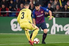 Gol de Iborra para el 3-2 ante un relajado Barcelona