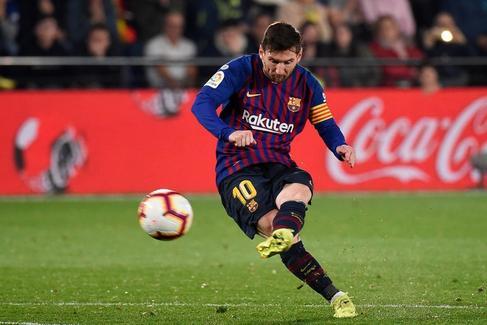 Messi llega a tiempo en Villarreal