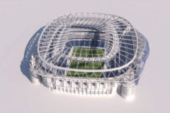 Así será el nuevo estadio Santiago Bernabéu