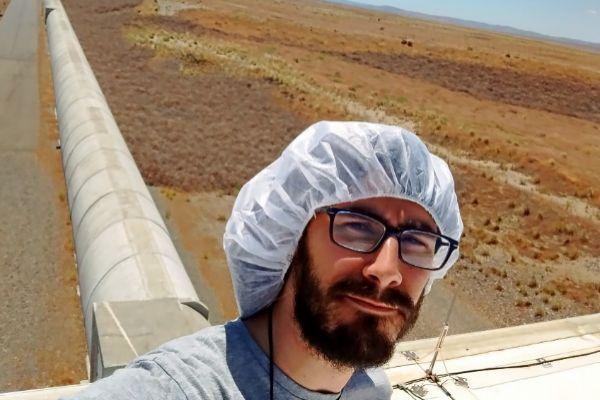 Pep Covas, físico del Grupo de Relatividad y Gravitación de la UIB en el Observatorio de Hanford.