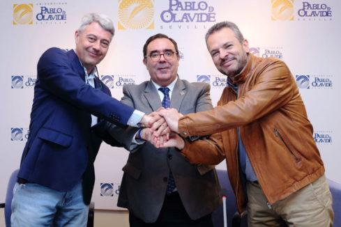 Vicente Guzmán, Francisco Javier Fernández y David Cobo.