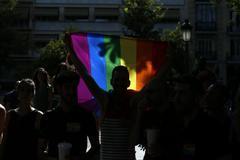 Manifestación del Orgullo en Madrid.