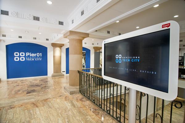 Imagen de las instalaciones de Barcelona Tech City.