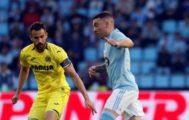 Aspas, durante el partido contra el Villarreal.