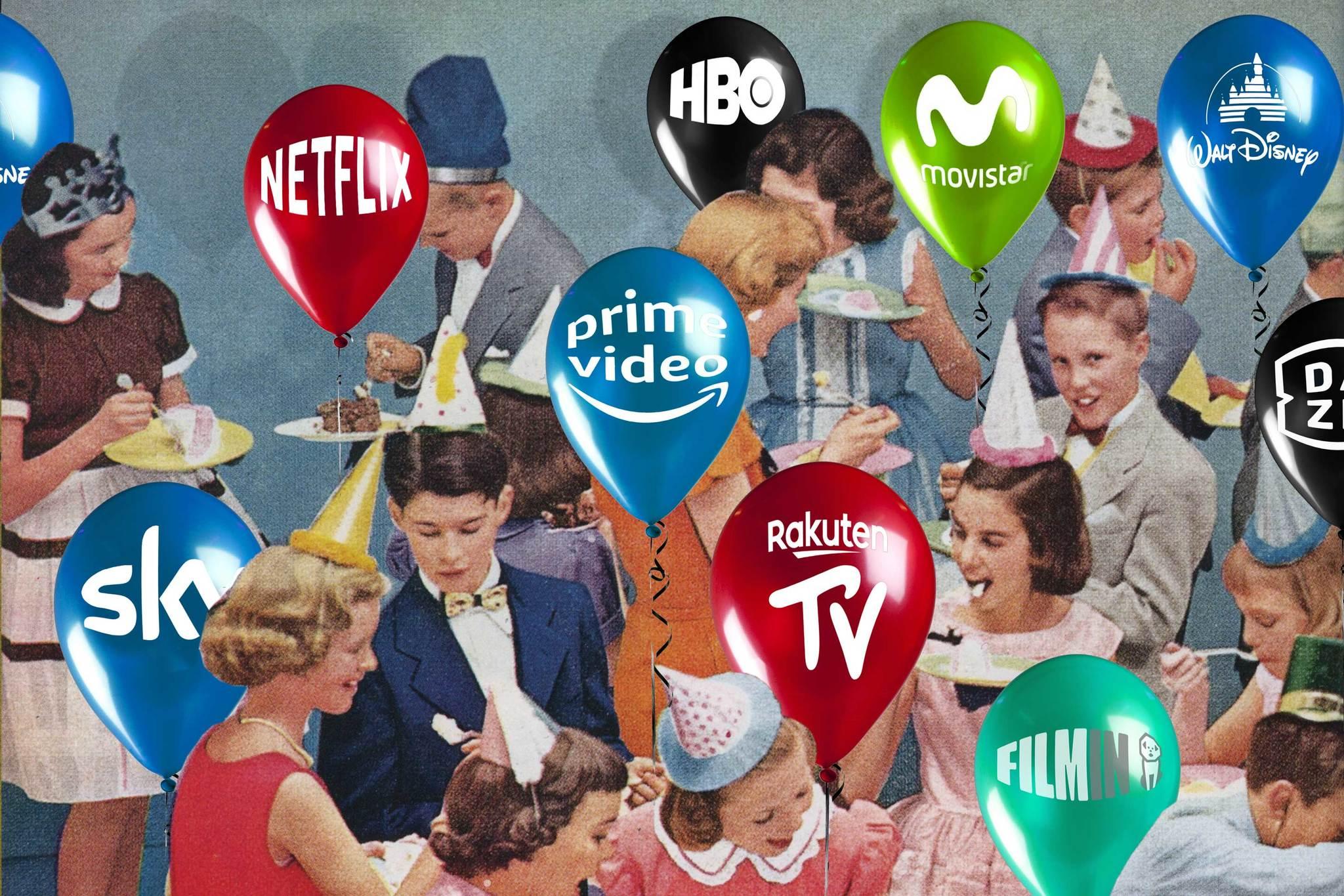 La batalla de la televisión online: ¿estallará la burbuja del modelo Netflix?