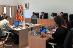 Debate en un Pleno del Consell de Formentera de finales del pasado año.