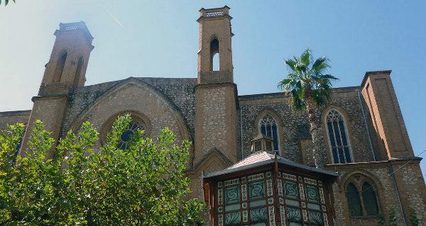 Iglesia del convento de los Carmelitas de Burriana.