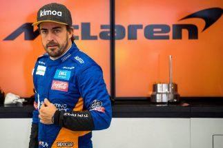 Alonso y Mick Schumacher, dos generaciones en Sakhir