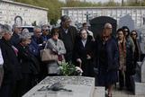 Sergio Gonzalez Valero.02-04-2019.Comunidad de Madrid. Rafael Sánchez <HIT>Ferlosio .Entierro.Cementerio</HIT> de la Almudena
